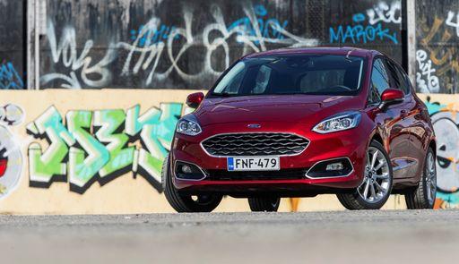 Ford Fiesta Vignale >> Koeajossa Ford Fiesta Vignale Ylellisyytta