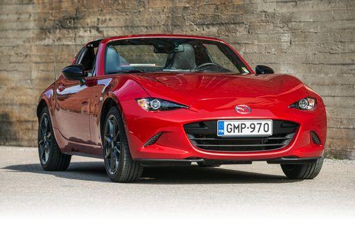 Mx 5 Rf >> Koeajossa Mazda Mx 5 Rf Pelti Katottomuuden Hurmaa Auto